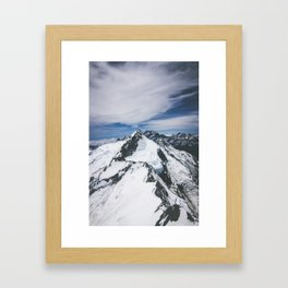 Mount Cook Framed Art Print