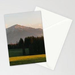 Sunset Bikeride Stationery Cards