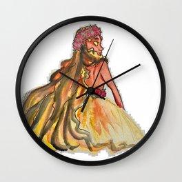 Pele-honua-mea Wall Clock
