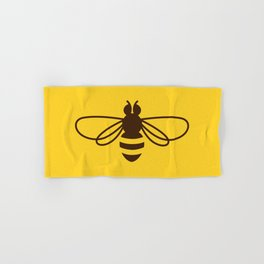 Be safe - save bees Hand & Bath Towel