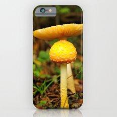 Yellow mushrooms iPhone 6s Slim Case