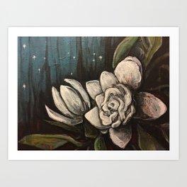 Night Bloom Art Print