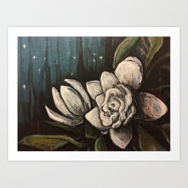 Night Bloom Art Print