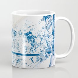 Vintage Florida Map Coffee Mug