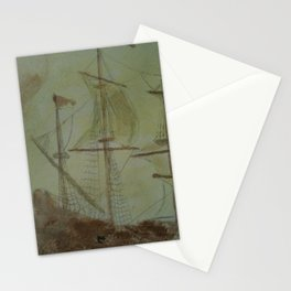 Ship - 13, Aug. 2010 - Tonight's Watercolor Stationery Cards