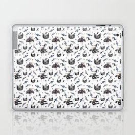 Cats and ravens Laptop & iPad Skin