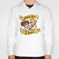mew Hoodies featuring A Mew Hope by Miski