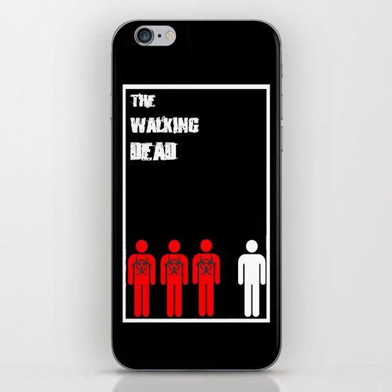 The Walking Dead Minimalist iPhone & iPod Skin