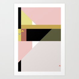 Constructivist Tune n° 3 Art Print