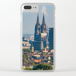 Cologne Skyline Clear iPhone Case