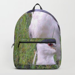 Night Heron in the Green Grass Backpack