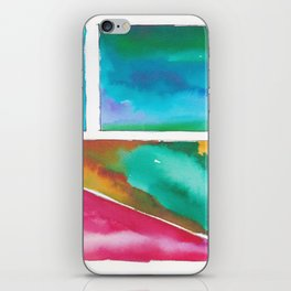 180811 Watercolor Block Swatches 11| Colorful Abstract |Geometrical Art iPhone Skin