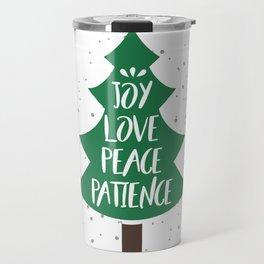 Tree of Christmas Present Travel Mug