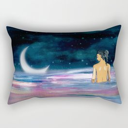Stars cant shine without Darkness Rectangular Pillow