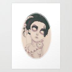dearpain +Endlessly Waiting+ Art Print