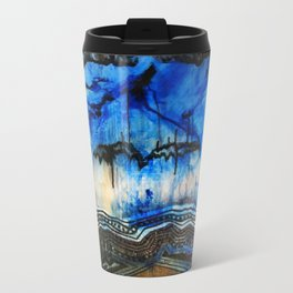 Blue Note Fire Metal Travel Mug