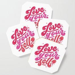Love Yourself Coaster