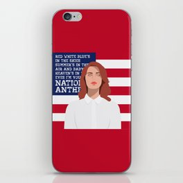 National Anthem iPhone Skin