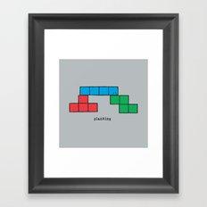 Planking Framed Art Print