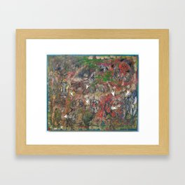 Secret Battle Framed Art Print