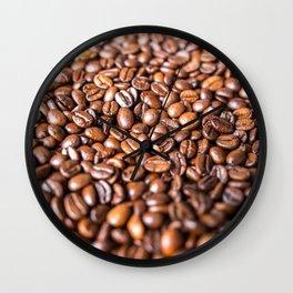 Coffee Beans Wall Clock