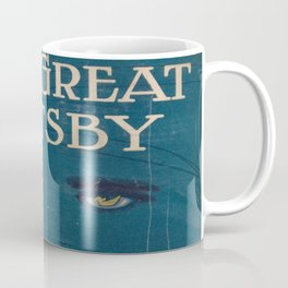 The Great Gatsby vintage book cover - Fitzgerald - muted tones Coffee Mug