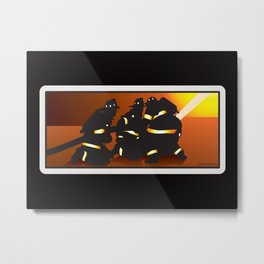 Engine Company Operations Metal Print