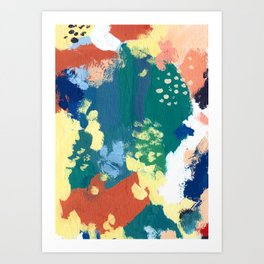 Splashes Art Print