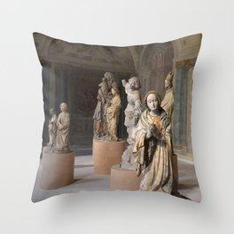 medieval prayers Throw Pillow