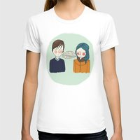 T-shirts featuring I Can't See Anything I Don't Like About You by Nan Lawson