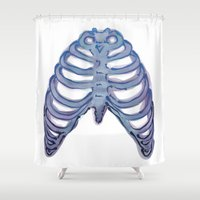 cage Shower Curtains featuring Bird Cage by Aslan