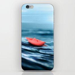 Paper Seas iPhone Skin