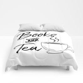 Books & Tea Comforters