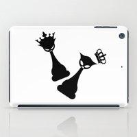 feminism iPad Cases featuring Queen Power - Feminism by La Gata Venenosa