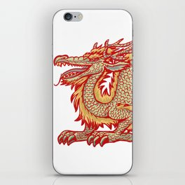 Old China Dragon iPhone Skin