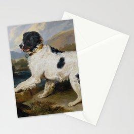 Edwin Landseer -  Lion A Newfoundland Dog Stationery Cards
