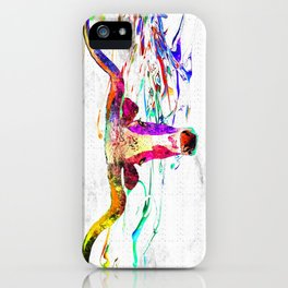 Longhorn Grunge iPhone Case