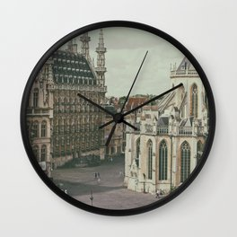 Leuven from the Penthouse Wall Clock