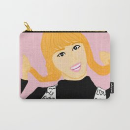 Knock Knock! Momo Pink Carry-All Pouch