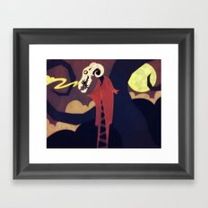 Dark Night Framed Art Print