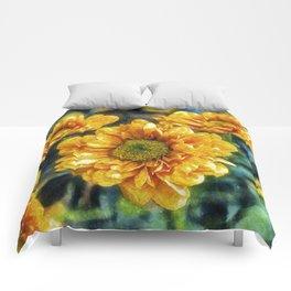 Sunny Flowers Comforters