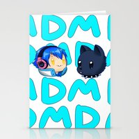 dmmd Stationery Cards featuring DMMD- chibi Aoba and Ren by prpldragon