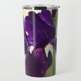 Purple Iris DP150530 Travel Mug