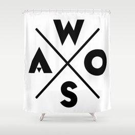 WOSA - World of Street Art Shower Curtain