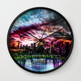 Neuanfang Wall Clock