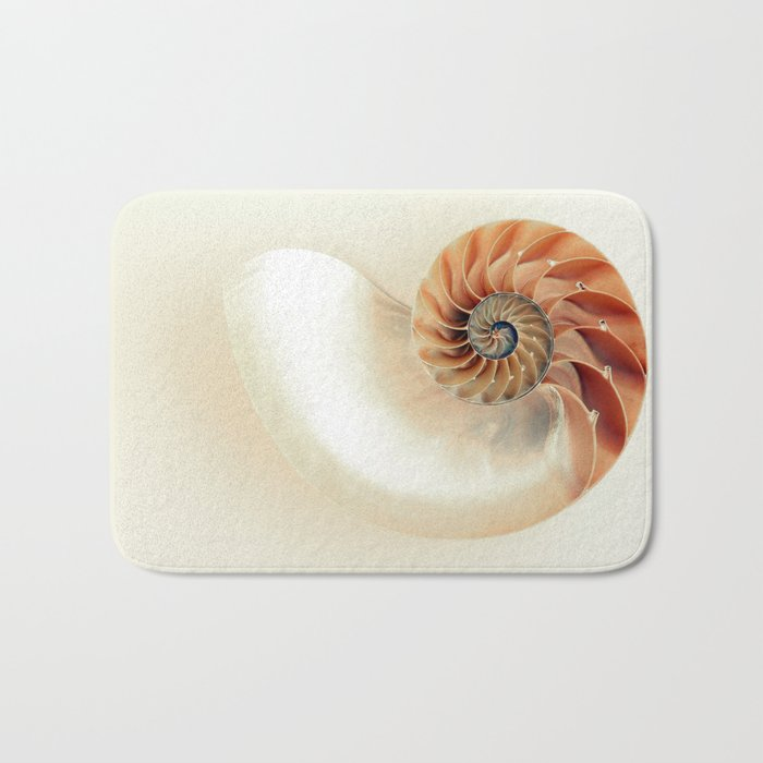 Shell of life Bath Mat