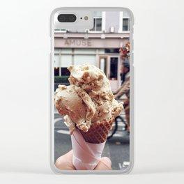 Dublin Love Clear iPhone Case