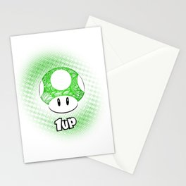 1-UP from Mario Stationery Cards