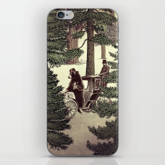 Two Gentlemen in the Forest iPhone & iPod Skin