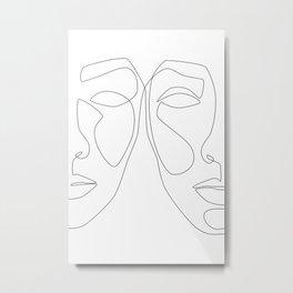 Double Face Metal Print